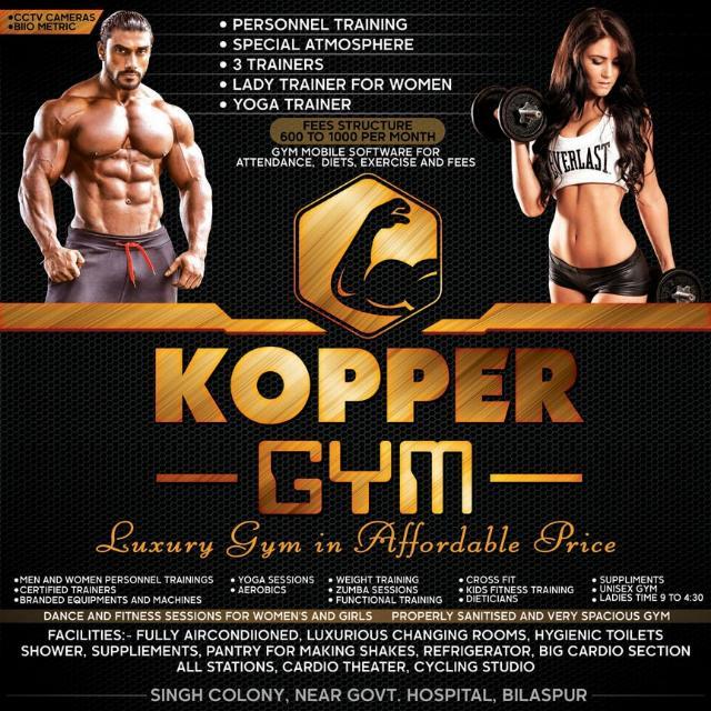 Best Gym in Bilaspur